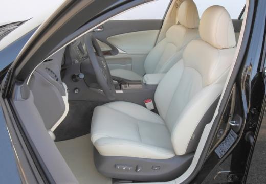 LEXUS IS IV sedan wnętrze