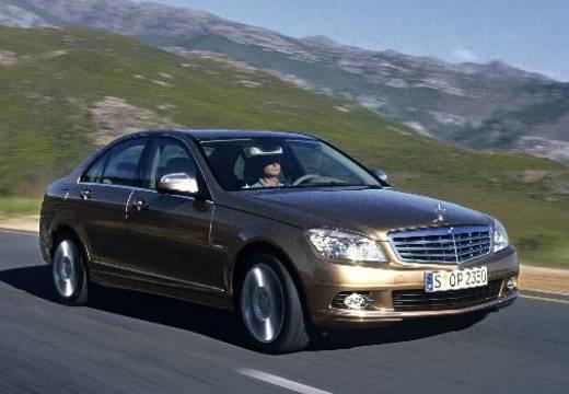 MERCEDES-BENZ Klasa C W 204 I sedan silver grey przedni prawy