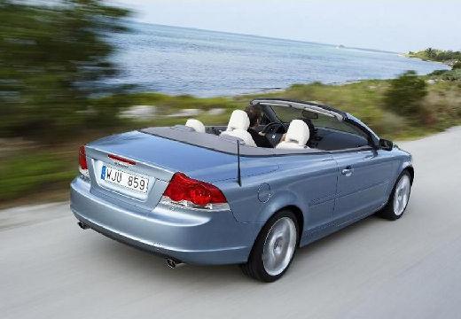 VOLVO C70 kabriolet niebieski jasny tylny prawy