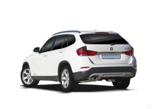 BMW X1 X 1 E84 II kombi biały tylny lewy