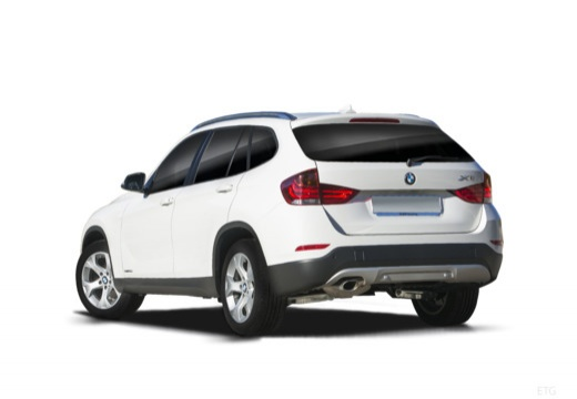 BMW X1 универсал белый задний левый
