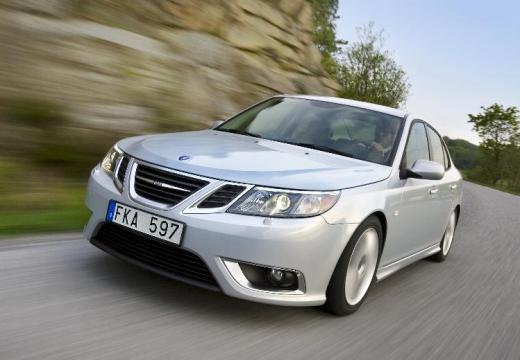 SAAB 9-3 Sport II sedan silver grey przedni lewy