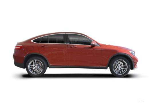MERCEDES-BENZ Klasa GLC GLC Coupe C 253 I hatchback boczny prawy