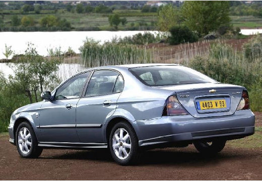 CHEVROLET Evanda I sedan silver grey tylny lewy