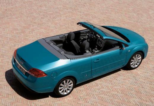 FORD Focus CC I kabriolet niebieski jasny tylny prawy