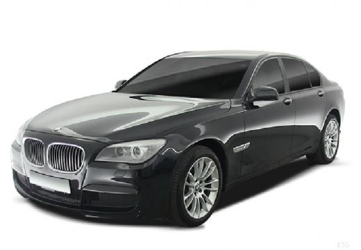 BMW Seria 7 sedan szary ciemny