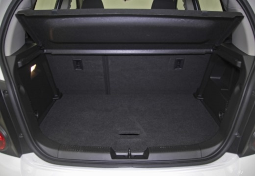 CHEVROLET Aveo hatchback przestrzeń załadunkowa