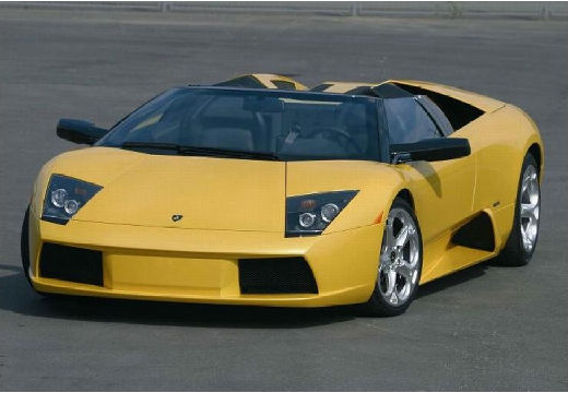 LAMBORGHINI Murcielago roadster żółty przedni lewy