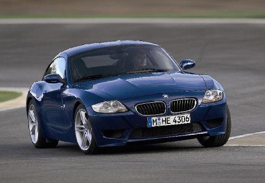 BMW Z4 coupe niebieski jasny przedni prawy