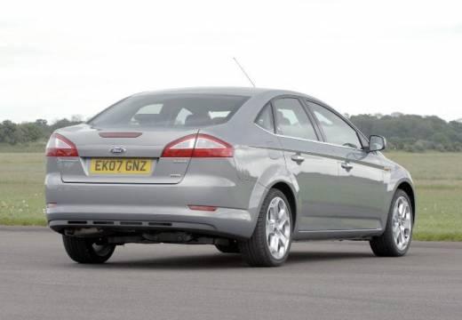 FORD Mondeo VI sedan silver grey tylny prawy