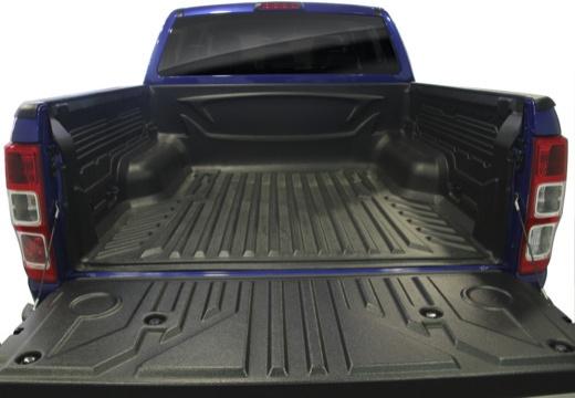 FORD Ranger pickup niebieski jasny przestrzeń załadunkowa
