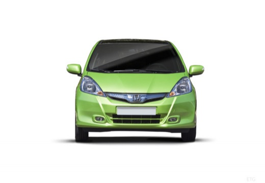 HONDA Jazz III hatchback zielony przedni