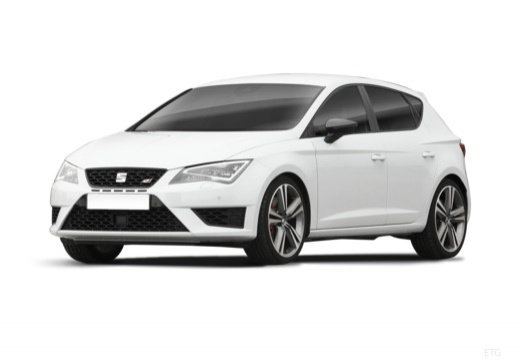 SEAT Leon IV hatchback biały przedni lewy