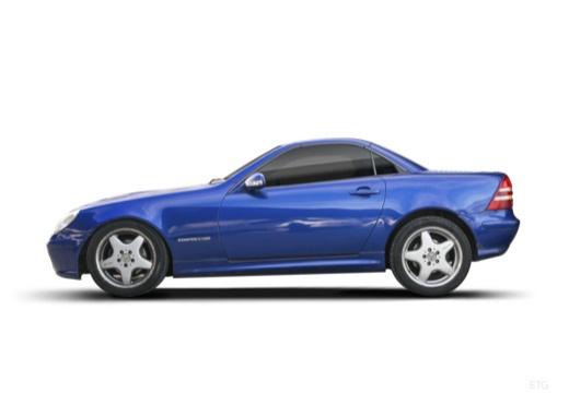MERCEDES-BENZ Klasa SLK SLK R 170 kabriolet boczny lewy