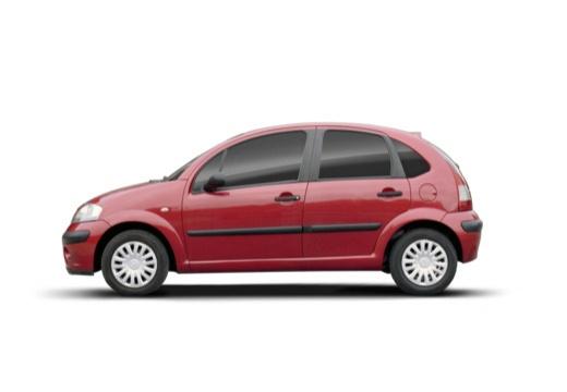 CITROEN C3 II hatchback czerwony jasny boczny lewy