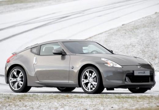NISSAN 370 Z I coupe silver grey przedni prawy