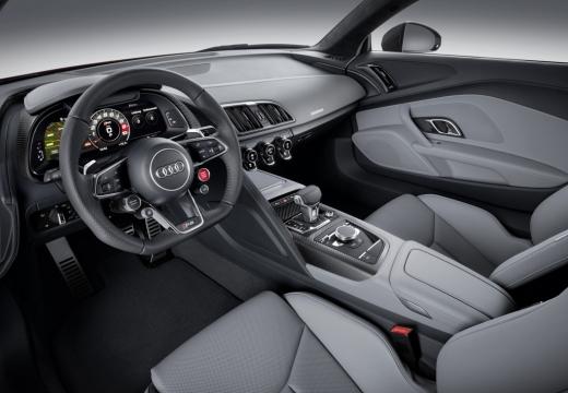 AUDI R8 coupe tablica rozdzielcza
