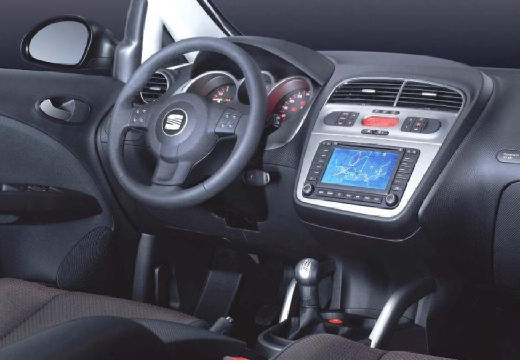 SEAT Altea I hatchback tablica rozdzielcza