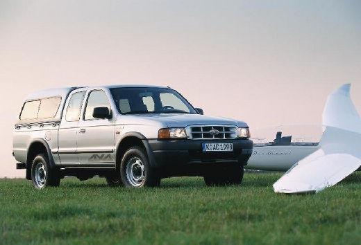 FORD Ranger pickup biały przedni prawy