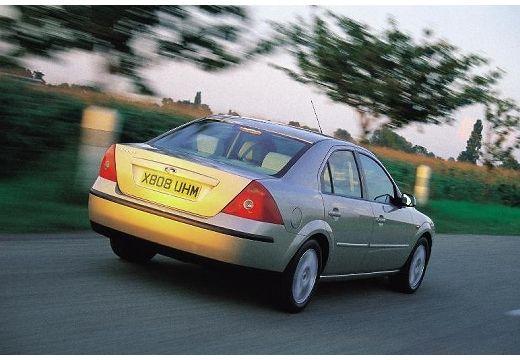 FORD Mondeo III sedan silver grey tylny prawy