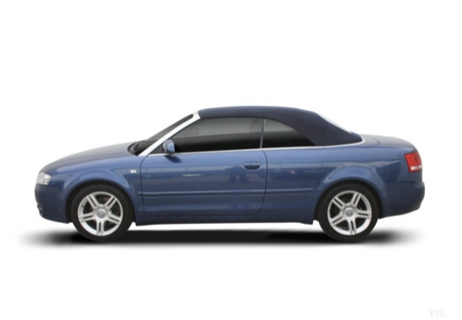AUDI A4 Cabriolet 8H II kabriolet boczny lewy
