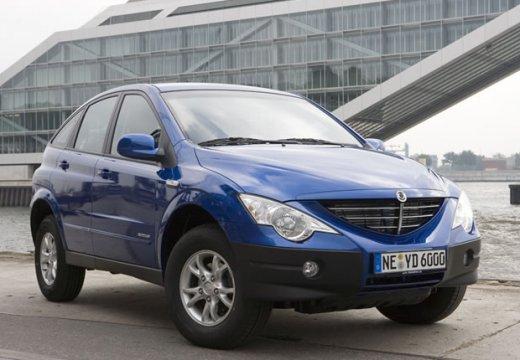 SSANG YONG Actyon hatchback niebieski jasny przedni prawy
