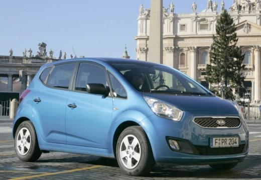 KIA Venga I hatchback niebieski jasny przedni prawy