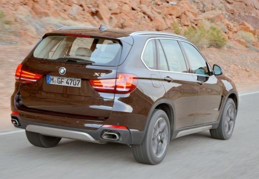 BMW X5 X 5 F15 kombi brązowy tylny prawy