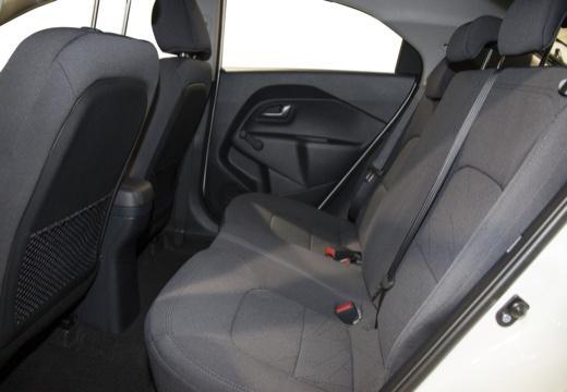 KIA Rio V hatchback wnętrze