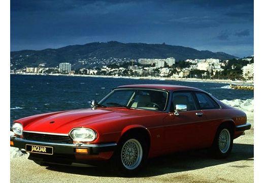 JAGUAR XJS coupe czerwony jasny przedni lewy