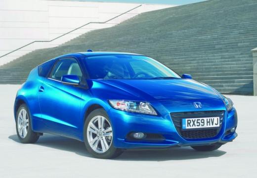 HONDA CR-Z coupe niebieski jasny przedni prawy