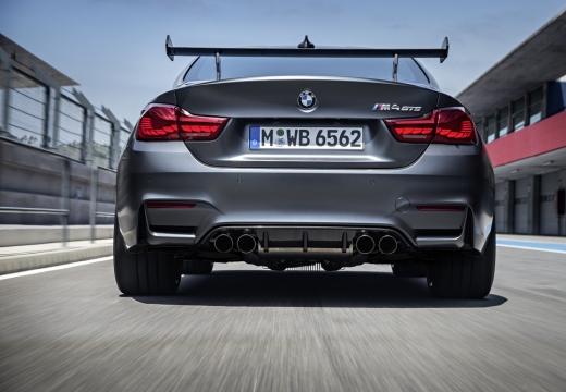 BMW Seria 4 F32 coupe szary ciemny tylny