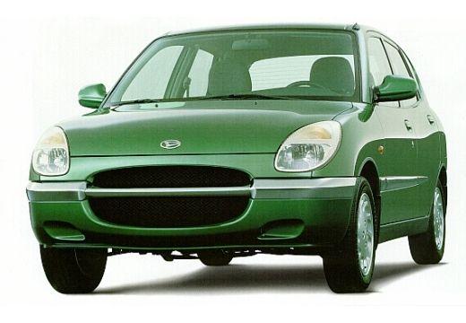 DAIHATSU Sirion hatchback zielony przedni lewy