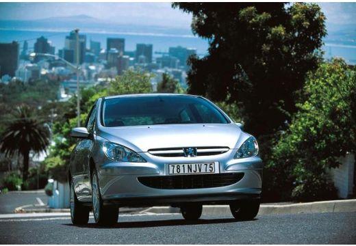PEUGEOT 307 I hatchback silver grey przedni prawy