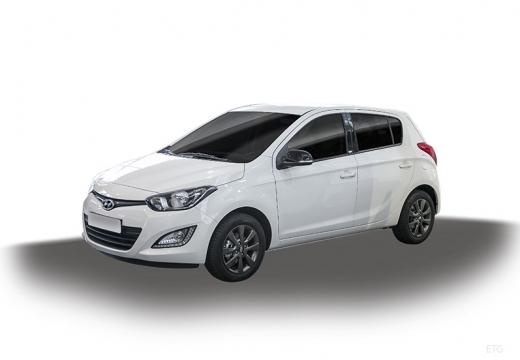 HYUNDAI i20 II hatchback biały