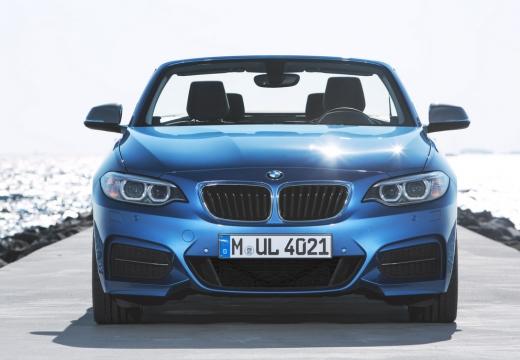 BMW Seria 2 Cabrio F23 I kabriolet niebieski jasny przedni