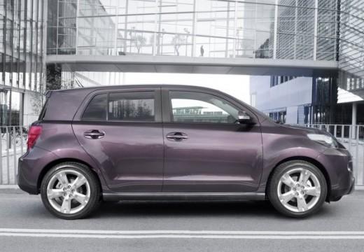 Toyota Urban Cruiser hatchback fioletowy boczny prawy