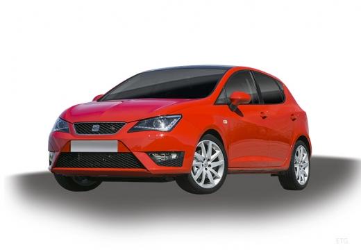 SEAT Ibiza VI hatchback czerwony jasny