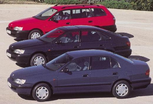 Toyota Carina E sedan przedni lewy