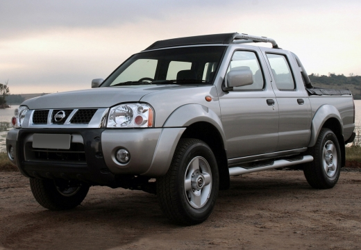 NISSAN Pick Up NP300 pickup silver grey