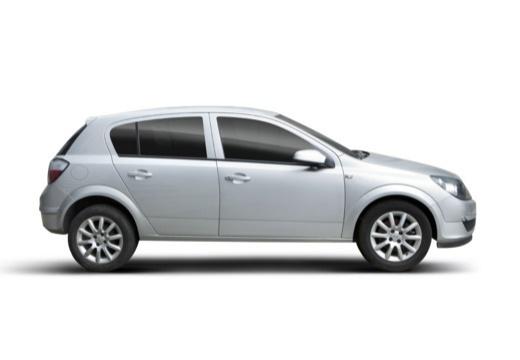 OPEL Astra III I hatchback boczny prawy
