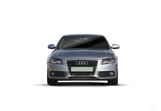 AUDI A4 B8 I sedan silver grey przedni