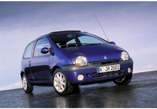 RENAULT Twingo hatchback niebieski jasny przedni prawy