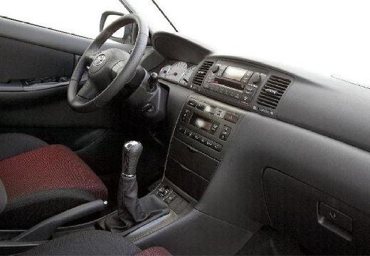 Toyota Corolla VII hatchback tablica rozdzielcza