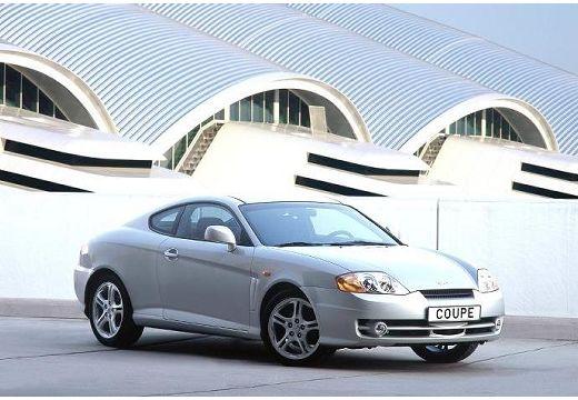 HYUNDAI Coupe III coupe silver grey przedni prawy
