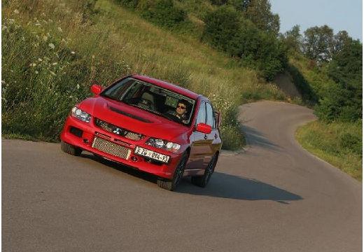 MITSUBISHI Lancer V sedan czerwony jasny przedni lewy