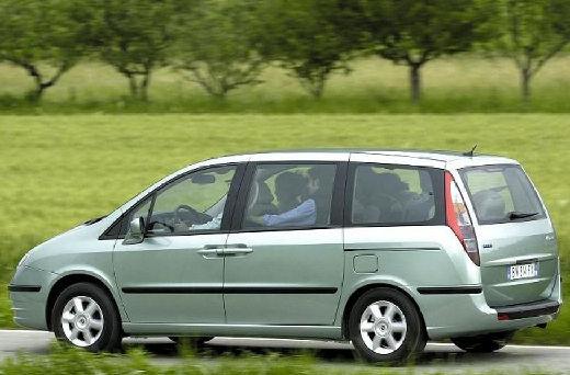FIAT Ulysse van zielony jasny tylny lewy