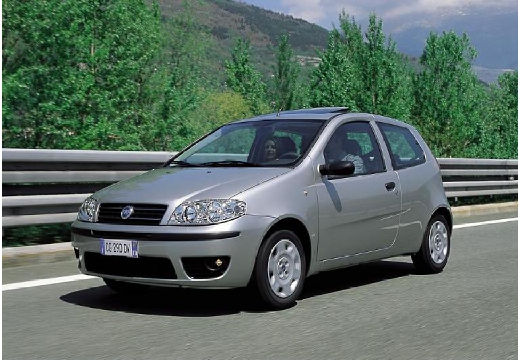 FIAT Punto II II hatchback silver grey przedni lewy