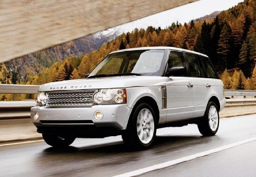 LAND ROVER Range Rover IV kombi silver grey przedni lewy