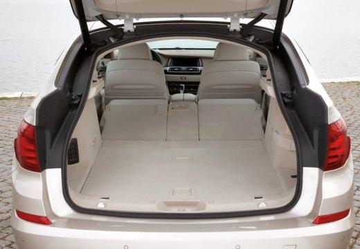 BMW Seria 5 Gran Turismo hatchback przestrzeń załadunkowa
